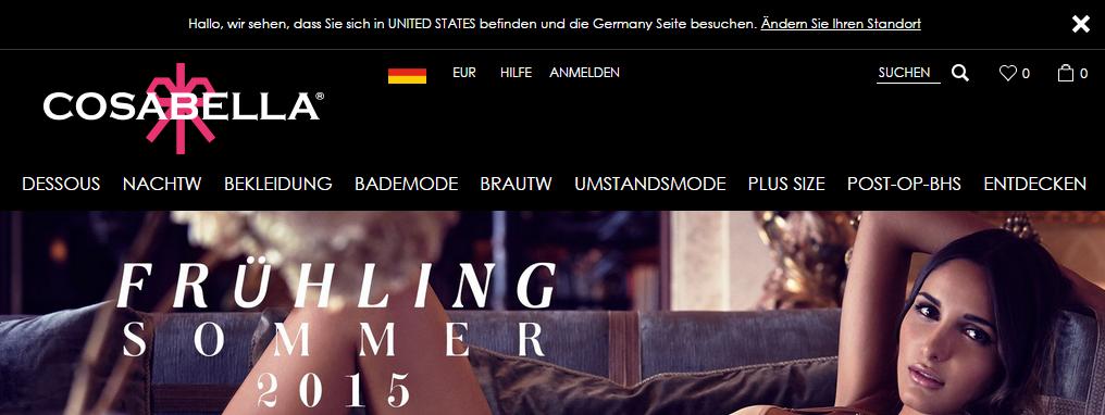 Cosabella German Landing